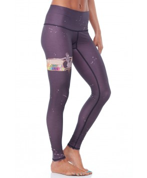 Teeki Rainbow Priestess Coffee Hot Pant
