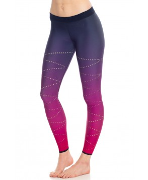 Ultracor Silk Zig Zag Pixelate Legging
