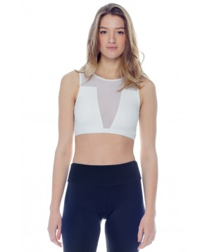Varley Vance Crop Bra Top