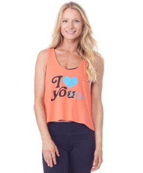 WaffleHaus I Love Yoga Tank