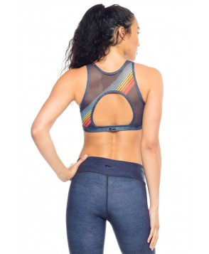 Wear it to Heart Roller Girl High Neck Bra