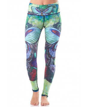 Yoga Democracy Butterfly Yoga Legging
