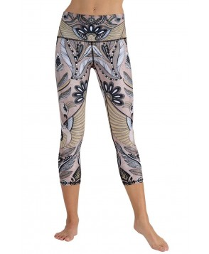 Yoga Democracy Desert Goddess Cropped Legging