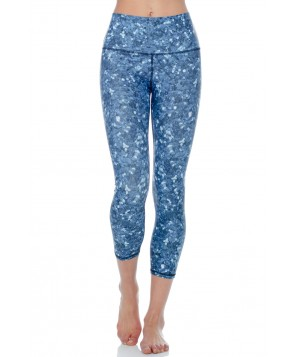 Yoga Democracy Dharma on the Dancefloor Cropped Legging