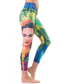 Yoga Democracy Frida Cropped Legging