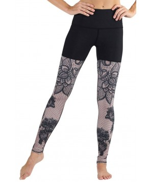 Yoga Democracy Lace in Place Urban Active Legging