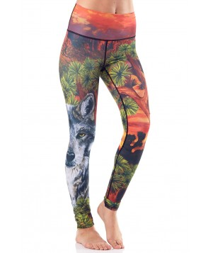 Yoga Democracy Lobo Yoga Legging