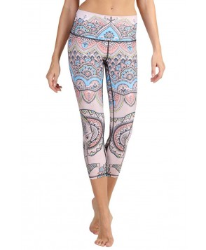 Yoga Democracy Mystic Elephant Cropped Legging