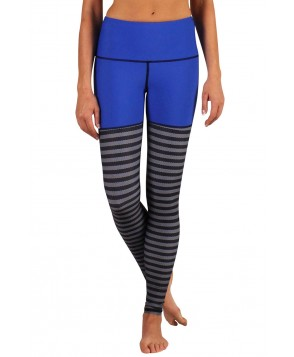Yoga Democracy One Blue Knit Urban Active Legging