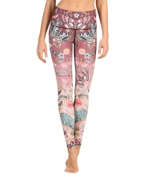 Yoga Democracy Pretty in Pink Yoga Legging
