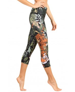 Yoga Democracy Rawr Talent Cropped Legging