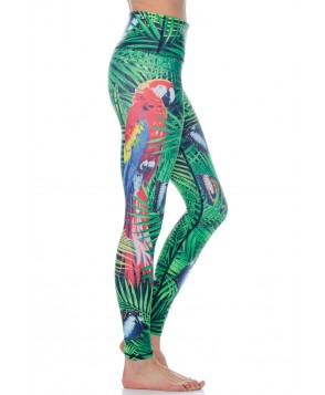 Yoga Democracy Tropical Escape Yoga Legging