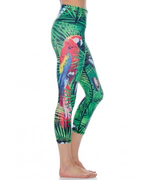 Yoga Democracy Tropical Escape Cropped Legging