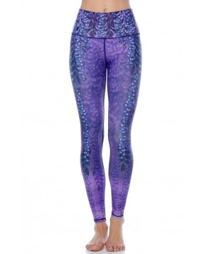 Yoga Democracy Wistful Wisteria Yoga Legging