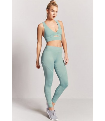 Forever 21  Active Stretch-Knit Leggings