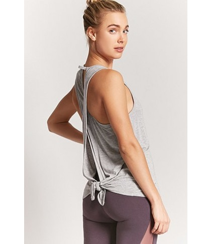 Forever 21  Active Tie-Back Top