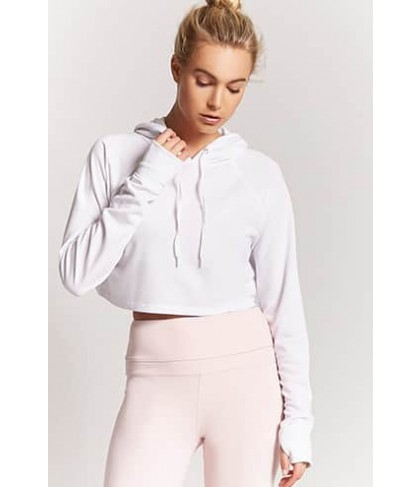 Forever 21 Active Hooded Top