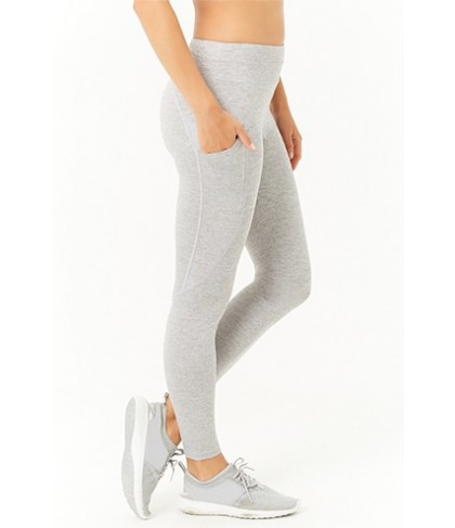Forever 21  Active Heathered Knit Leggings