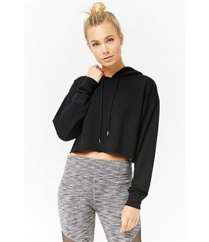 Forever 21  Active Hooded Knit Top