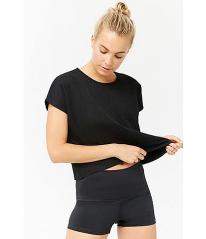 Forever 21 Active French Terry Top