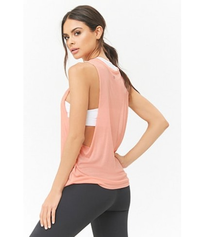 Forever 21  Active Slub Knit Muscle Tee