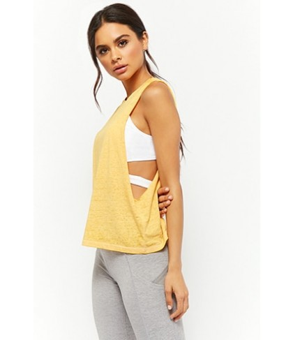 Forever 21  Active Heathered Knit Muscle Tee
