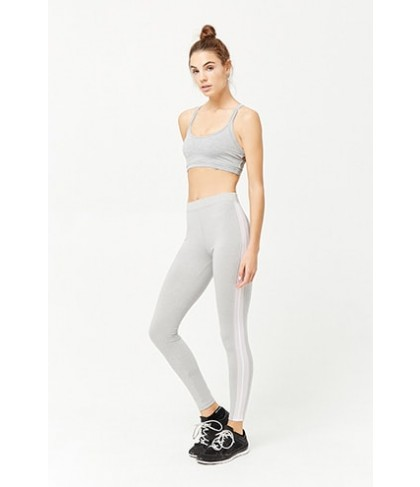 Forever 21  Active Mesh-Side Leggings