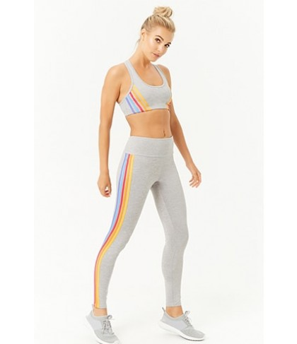 Forever 21  Active Rainbow Leggings