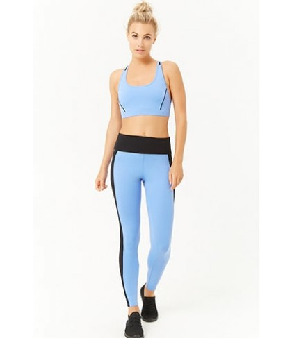 Forever 21  Active Mesh Colorblock Leggings
