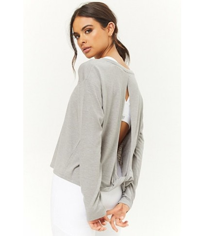 Forever 21  Active Twist-Back Top