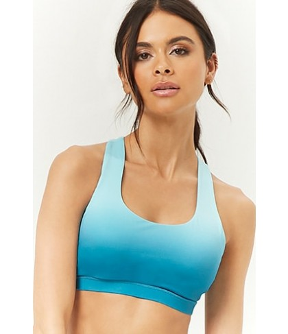 Forever 21  High Impact - Ombre Sports Bra