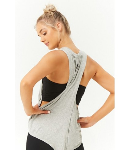 Forever 21  Active Crisscross-Back Muscle Tee