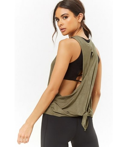Forever 21  Active Knotted Muscle Tee