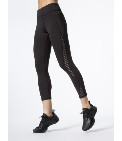 Carbon38 Medusa Stripe Crop Legging