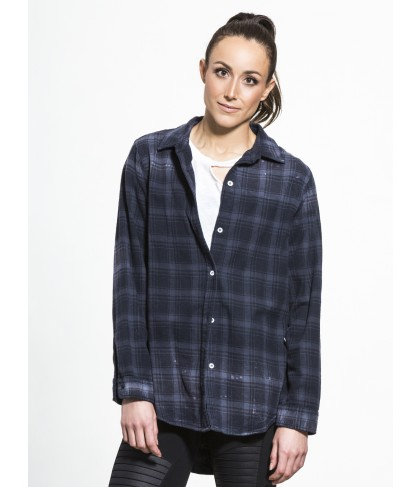 Carbon38 Oversized Shirt Distressed