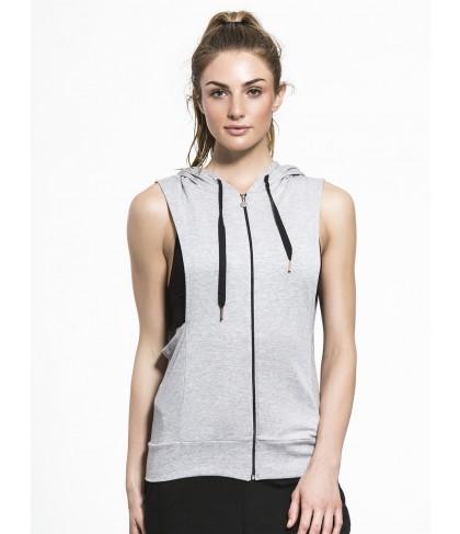 Carbon38 Vest Behavior Hoodie