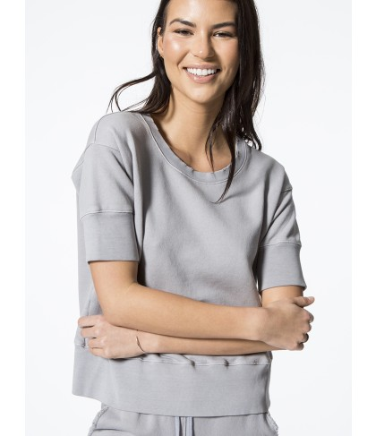 Carbon38 Short Sleeve Sweatshirt