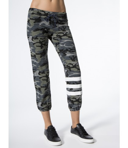 Carbon38 Sweat Pants Stripes