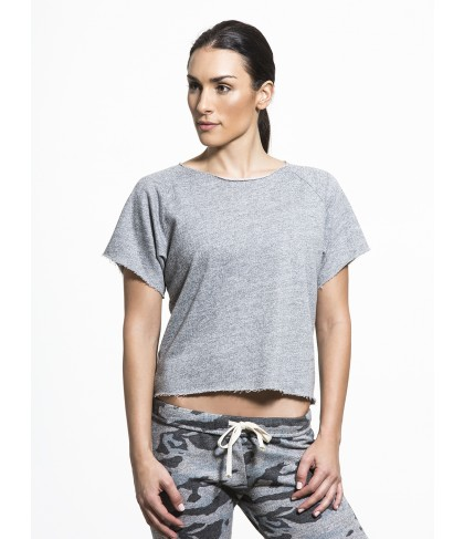Carbon38 Cut Off Sweatshirt