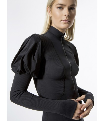 Carbon38 Puff Shoulder Long Sleeve