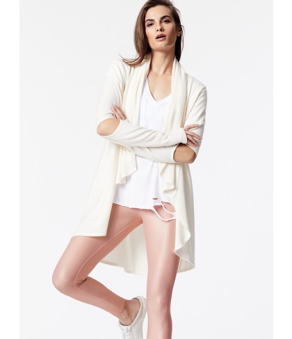 Carbon38 Brushed Open Elbow Cardigan