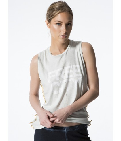 Carbon38 Sleeveless T-shirt