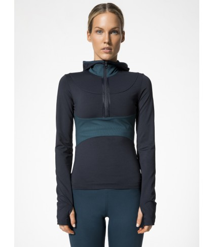 Carbon38 Run Hooded LS