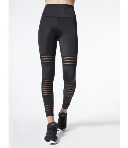Carbon38 Mesh to Impress High Waisted Midi Legging