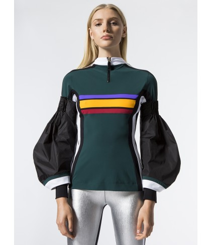 Carbon38 Nala Flared Long Sleeve Top