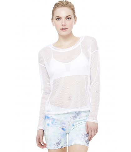 Alo Yoga Strata Long Sleeve Top