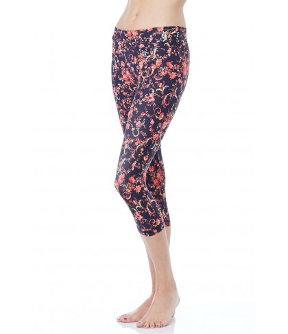 Balance Fit Wear Dolce Flower Capri
