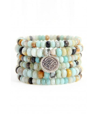 Blooming Lotus Jewelry Guardian Stack Bracelet