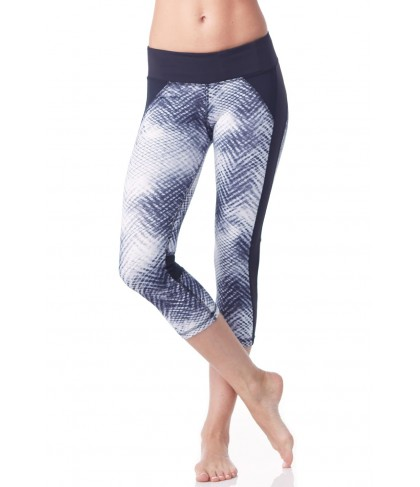 Chichi Active Jennifer Printed Capri