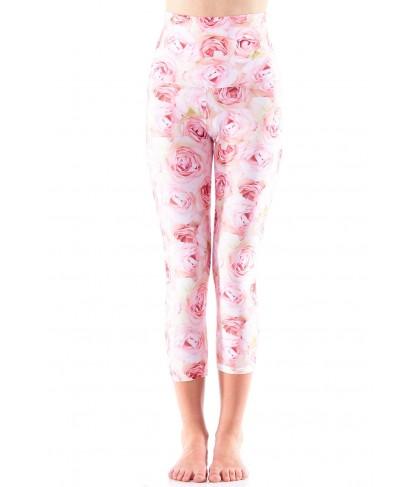 Emily Hsu Pink Roses Capri